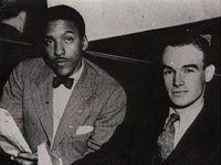 Bayard Rustin and George Houser, circa 1947